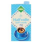 Melkan koffiemelk koffiemelk halfvol voorkant