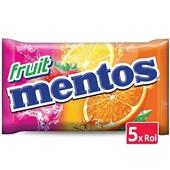 Mentos fruit   5-pack voorkant