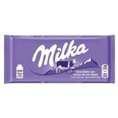 Milka tablet alpenmelk voorkant