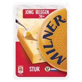 Milner kaas stuk licht gerijpt voorkant