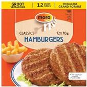 Mora Hamburgers voorkant