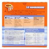 Mora Hamburgers achterkant