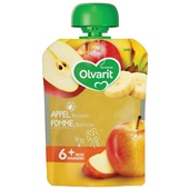 Olvarit appel banaan 6+ maanden voorkant