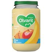 Olvarit Baby/Peuter Fruithapje Banaan, Koek voorkant