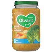 Olvarit baby/peuter maaltijd broccoli, kip en aardappel voorkant