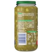 Olvarit Baby/Peuter Maaltijd Spinazie, Kip En Aardappel achterkant
