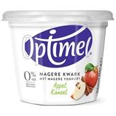 Optimel Magere kwark appel kaneel 0% vet voorkant