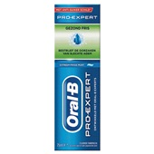 Oral B Pro-Expert Tandpasta Gezond Fris achterkant