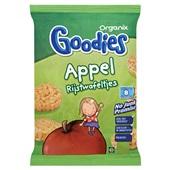 Organix Goodies appel rijstwafeltjes voorkant