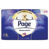 Page toiletpapier voorkant
