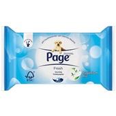 Page vochtig toiletpapier cotton fresh navulverpakking voorkant