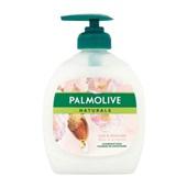Palmolive naturals handzeep melk en amandel voorkant