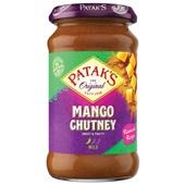 Patak's chutney sweet mango voorkant