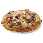pizza ham salami voorkant