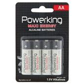 Powerking AA-batterijen voorkant