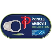 Princes ansjovisfilet in olijfolie voorkant