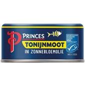 Princes tonijnmoot in zonnebloemolie voorkant