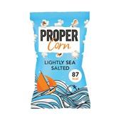 Propercorn popcorn lightly sea salted voorkant
