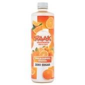Raak vruchtensiroop sinaasappel zero voorkant