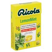 Ricola Suikerwerk Lemon Mint achterkant