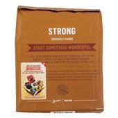 Senseo koffiepads strong achterkant