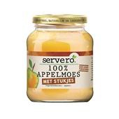 Servero 100% appelmoes met stukjes voorkant