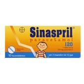 Sinaspril Paracetamol voorkant