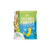 Sore baby mais fingers naturel voorkant