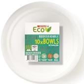 Spar bio bagasse borden voorkant