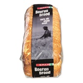 Spar boerenbrood maïs heel achterkant