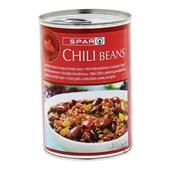 Spar chili beans  voorkant