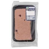 Spar cranberry paté achterkant