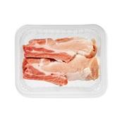 Spar dikke vleesribben voorkant