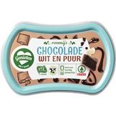 Spar ijs duo chocolade voorkant