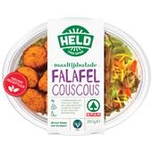 Spar maaltijdsalade couscous falafel voorkant