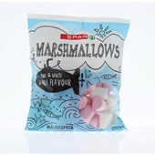 Spar marshmallows vanilla strawberry voorkant