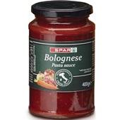 Spar pastasaus bolgonese voorkant