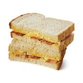 Spar sandwich eiersalade bacon voorkant