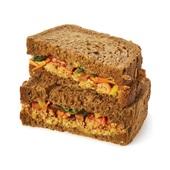 Spar sandwich falafel voorkant