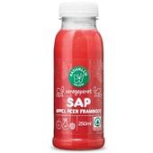 Spar sap appel, peer en framboos voorkant