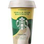 Starbucks chilled classics vanilla bean macchiato voorkant