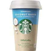 Starbucks coconut based cacao cappuccino voorkant