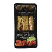 The Bread Office sandwich bacon, sla en tomaat voorkant
