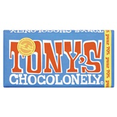 Tony's chocolonely Chocolade puur voorkant
