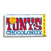 Tony's chocolonely wit voorkant