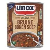 Unox bruine bonensoep stevige voorkant