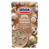 Unox champignonsoep soep in zak  voorkant