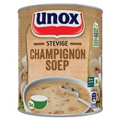 Unox champignonsoep stevige voorkant