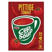 Unox Cup-a-soup pittige tomaat voorkant