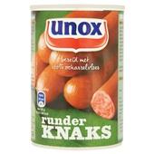 Unox Knakworst Runder voorkant